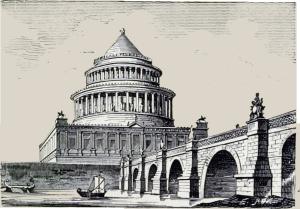 Der Bau wurde noch zu Lebzeiten Hadrians unter der Leitung des Architekten Demetrianus begonnen und im Jahr 139 von Antoninus Pius beendet. Das Mausoleum wurde für Kaiser Hadrian (76–138) und seine Nachfolger errichtet und später von verschiedenen Päpsten zur Burg umgebaut.