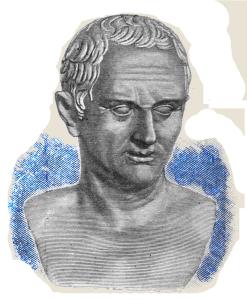 Marcus Tullius Cicero (* 3. Januar 106 v. Chr. in Arpinum; † 7. Dezember 43 v. Chr. bei Formiae) war ein römischer Politiker, Anwalt, Schriftsteller und Philosoph. Er war der berühmteste Redner Roms und einer der Konsulen.