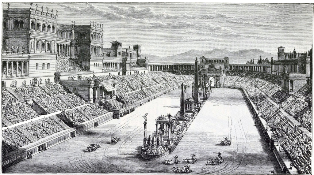 Der Circus Maximus war der größte Circus im antiken Rom. Er hatte eine Gesamtlänge von 600 Metern (die Arena und Stufen eingerechnet) sowie eine Breite von 140 Metern. Es war damit das größte Veranstaltungsgebäude das jemals von Menschen errichtet wurde. Sein Fassungsvermögen betrug im Ausbaustand zur Zeit Gaius Iulius Caesars 145.000 Plätze und soll in der Spätantike bis auf 385.000 Plätze ausgebaut worden sein.