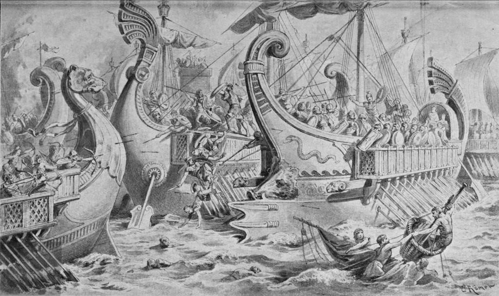 Römische Seeschlacht