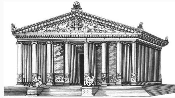 Artemis Tempel Artemision in Ephesus Sieben Weltwunder Antike
