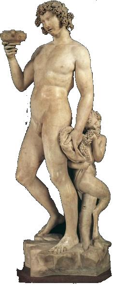 Bacchus - griechischer Gott des Weins