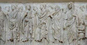 Prozession der Opferpriester
