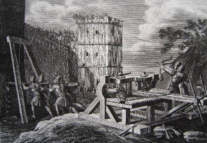 Römisches Belagerungsgeschütz