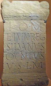 Weihe-Altar zu Ehren von Jupter und Juno