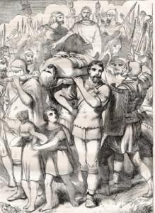 Römische Bestattung