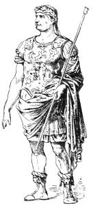 Römischer Offizier